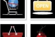 12 иконок для интернет магазина