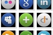 Иконки популярных веб ресурсов