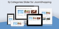 Модуль Sj Categories Slider for JoomShopping